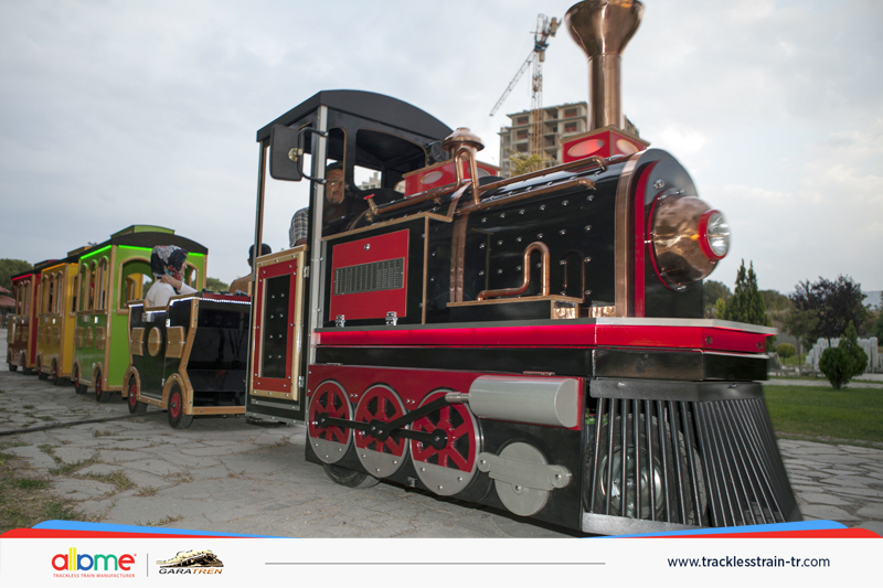 Electric Amusement Trackless Train for Kids electric mall train, trackless train Electric Mall Train, Trackless Train Electric Amusement Trackless Train for Kids 4