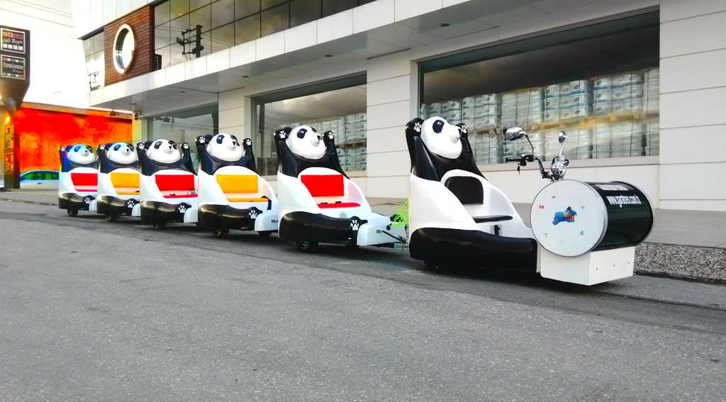 trackless train panda panda Panda trackless train panda