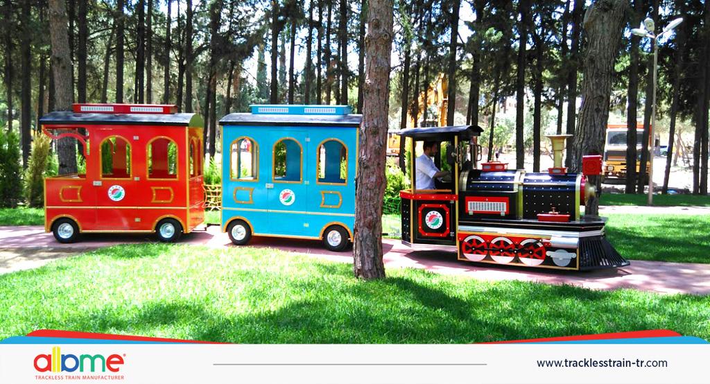 amusement train  Trackless Train Maxi amusement train