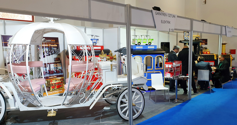 Our Company Participated In The Fair mini train