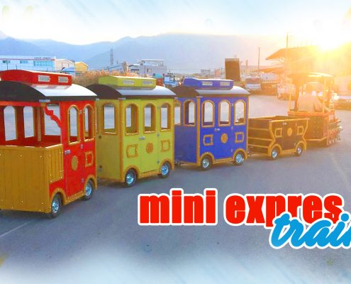 mini express trains  Trackless Trains Productions Continue At Full Speed mini express trains  495x400 trackless electric trains Home – Trackless Electric Trains mini express trains  495x400