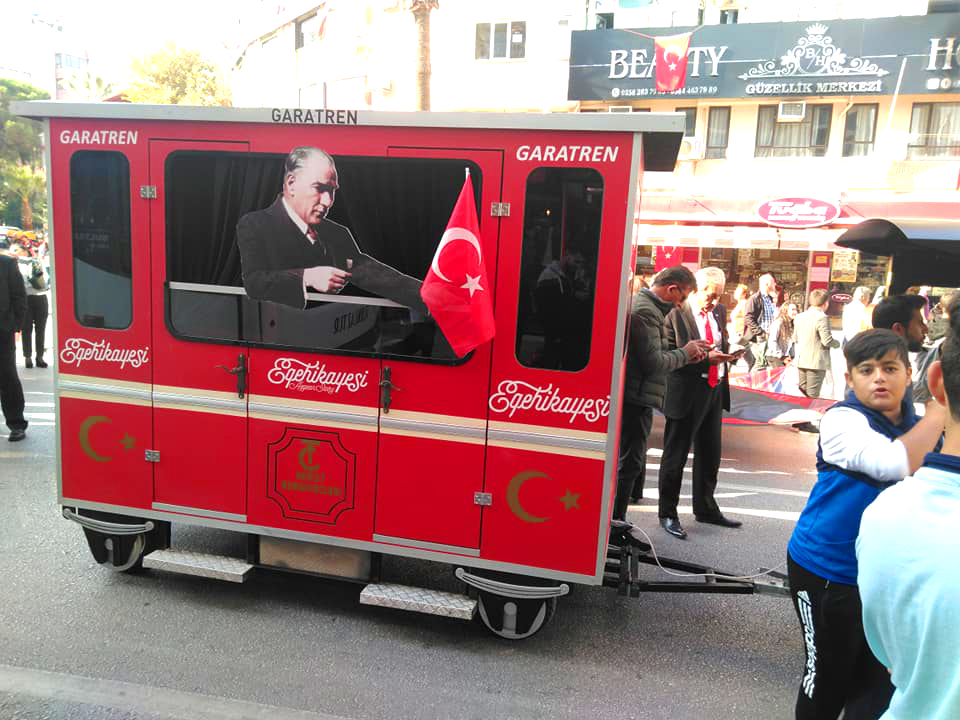 electric train manufacturer [object object] 29 October Republic Day of Turkey Celebrations electric train manufacturer