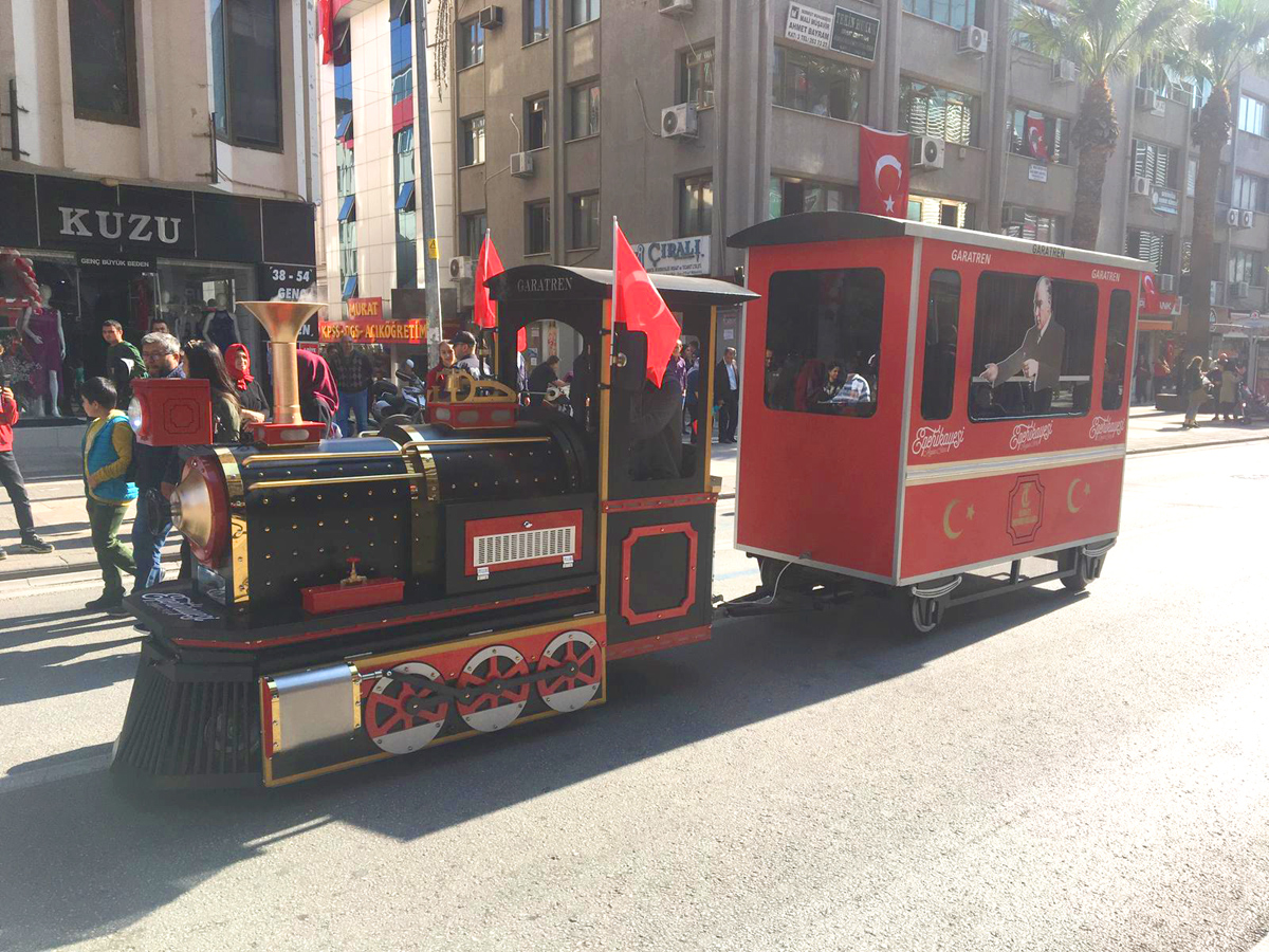 trackless train for sale [object object] 29 October Republic Day of Turkey Celebrations trackless train for sale
