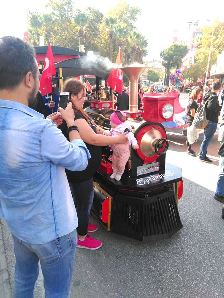 trackless train manufacturer [object object] 29 October Republic Day of Turkey Celebrations trackless train manufacturer