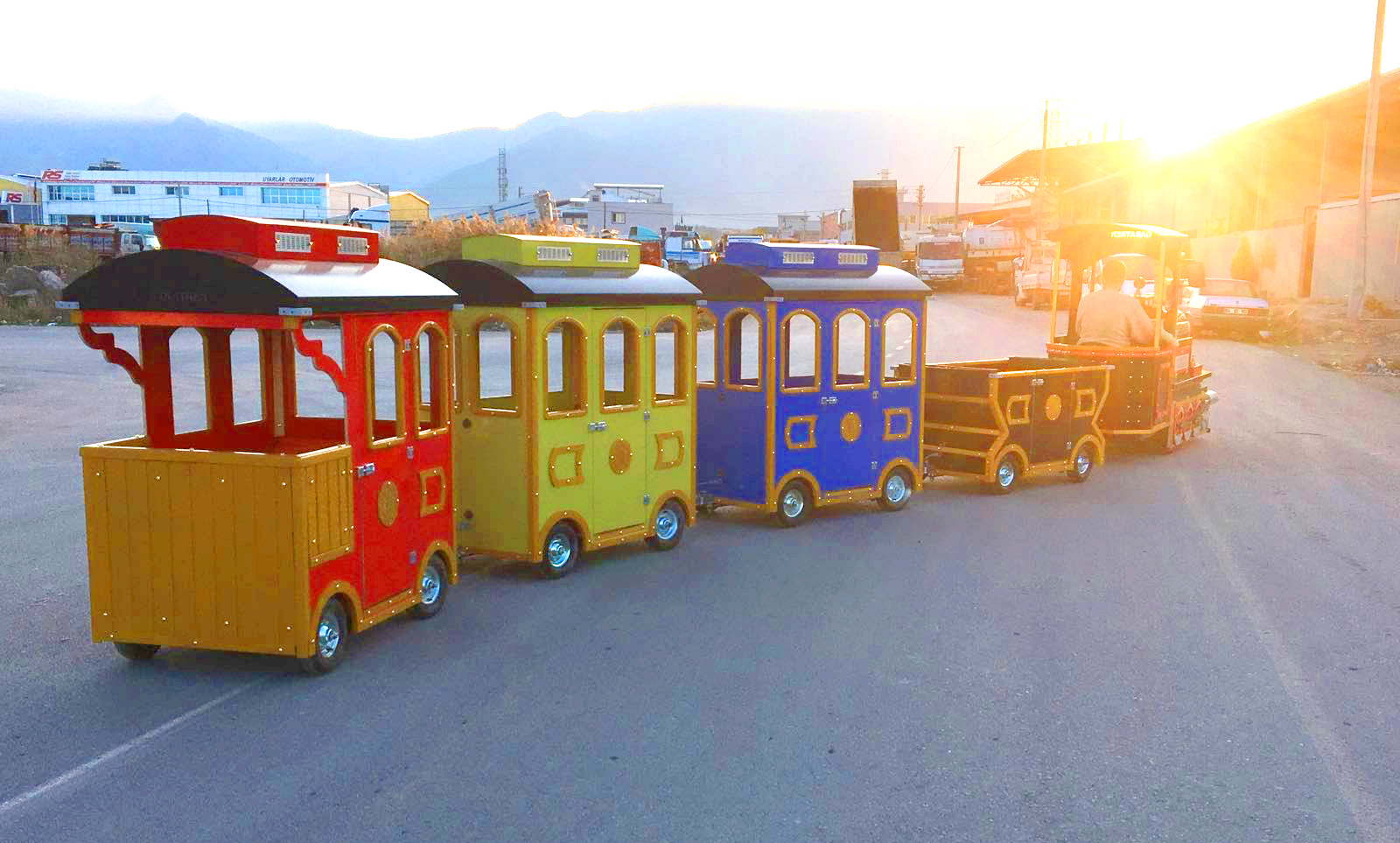 Mini Electric Trains